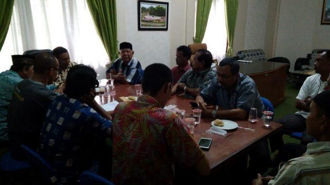 Rapat Bersama Para Geuchik dan Mukim Kecamatan Meuraxa