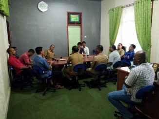Rapat Turnamen Bola Kaki Gala Desa Kec. Meuraxa